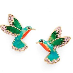 Kate Spade ✨🆕✨ hummingbirds earring studs